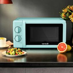 0.7 Cu. ft Retro Countertop Compact Microwave Oven