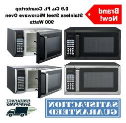 0.9 Cu. Ft. Countertop Microwave Oven Stainless Steel Digita