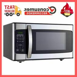 1.1 cu FT Microwave Oven Cooking Copper 1000W LED Display Fa