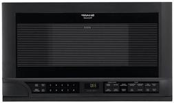 Sharp 1.5 cu. ft. Over the Counter Microwave Oven in Black &
