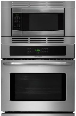 """Frigidaire 27"""" 3 Piece Stainless Steel Electric Wall Oven Mi"""