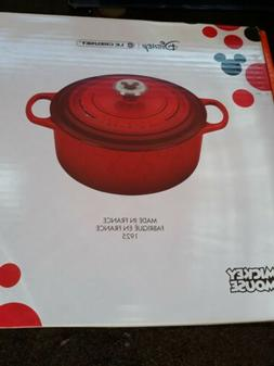 Le Creuset 4.5 Quart Mickey Mouse Round Dutch Oven