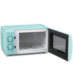 6-Speed Adjustable Compact Microwave Oven 0.7 Cubic Ft 700W