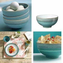 Azure Coast Rice Bowl Stoneware Handcrafted Microwave Oven S