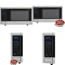 Carousel 1.1 Cu. Ft. 1000-Watt Countertop Microwave Oven In