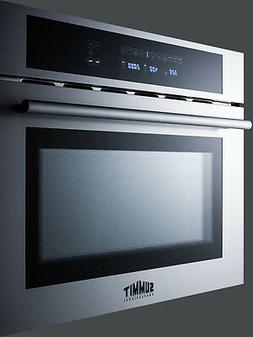 """Summit CMV24 Built in 24"""" Microwave, Convection Oven, Grill"""