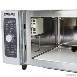 #1 Commercial Microwave Oven 1000 Watt with Dial Control Fre