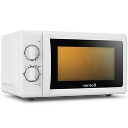 Countertop Microwave Oven Retro Small Compact Glass Turntabl