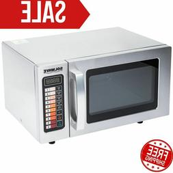 Durable Stainless Steel Commercial Microwave Oven Push Butto