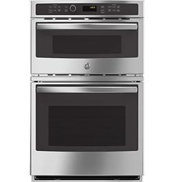 """GE JK3800SHSS 27"""" Stainless Steel Electric Combination Wall"""
