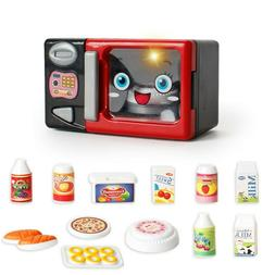 Kids Household Appliances Toy Microwave Oven Set Pretend Pla