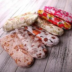 Kitchen Cooking Microwave Oven Mitts Insulated Mitten Non-sl