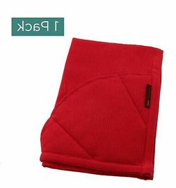 Rachael Ray Kitchen Towel and Oven Glove Moppine – Red / P