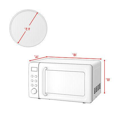 0.7Cu.ft Microwave Oven 700W Glass