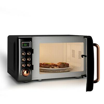 0.7Cu.ft Countertop Microwave Oven Display Glass Turntable New