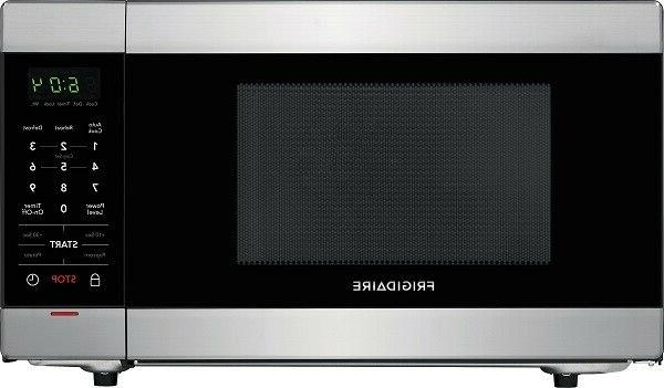 1 Cu Ft Stainless Steel Microwave Oven