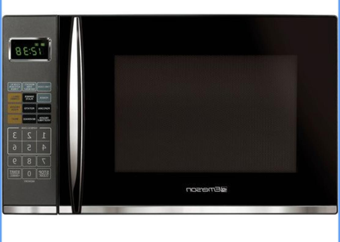 1.2 1100 W Countertop Microwave Grill in