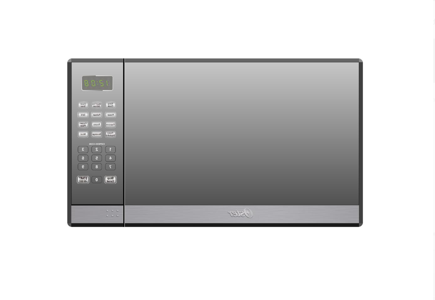Oster 1.3 Steel with Mirror Finish Microwave Oven