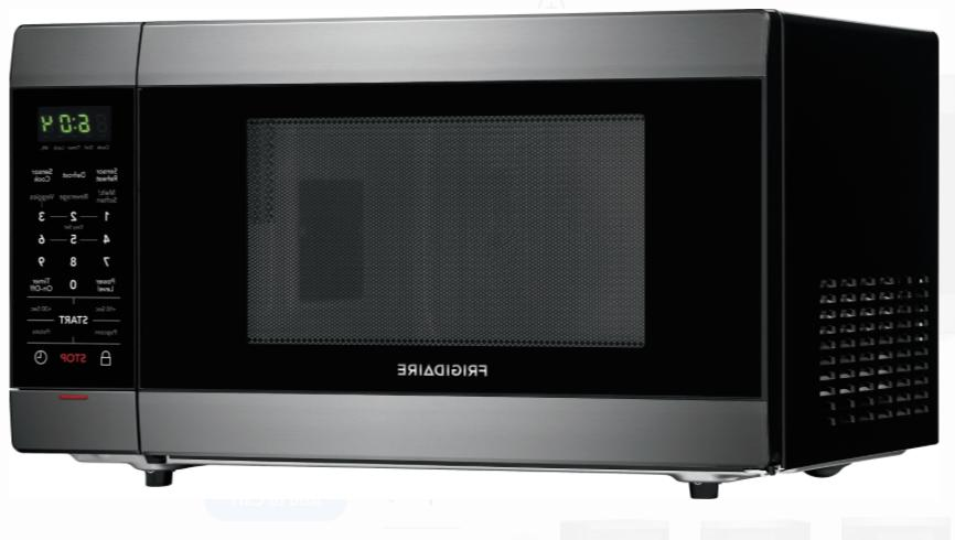 Black Microwave Oven Thaw New
