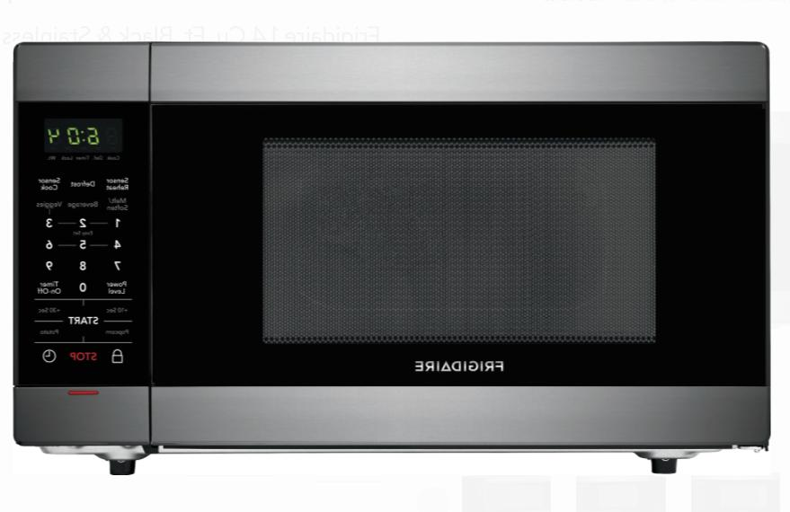 1 4 cu ft black and stainless