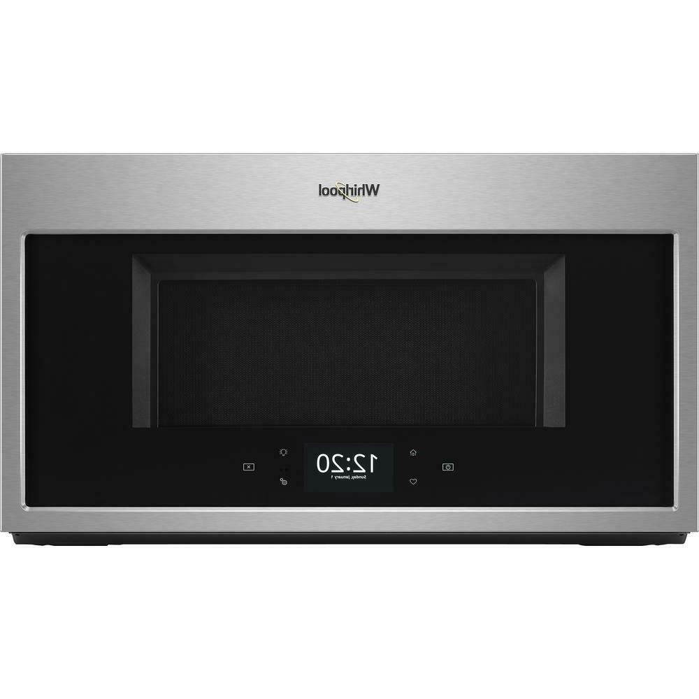 Whirlpool 1.9 cu. ft. Smart Over the Range Microwave Fingerp