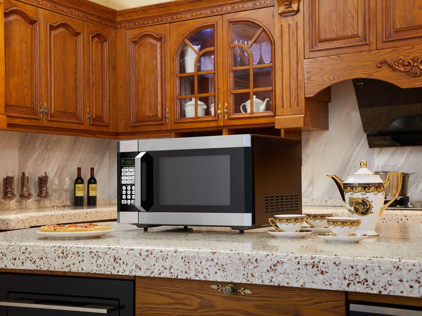 Countertop Microwave Oven 1.6 Cu ft 1100W New