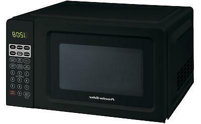 Black Microwave Oven, Small Silex 0.7