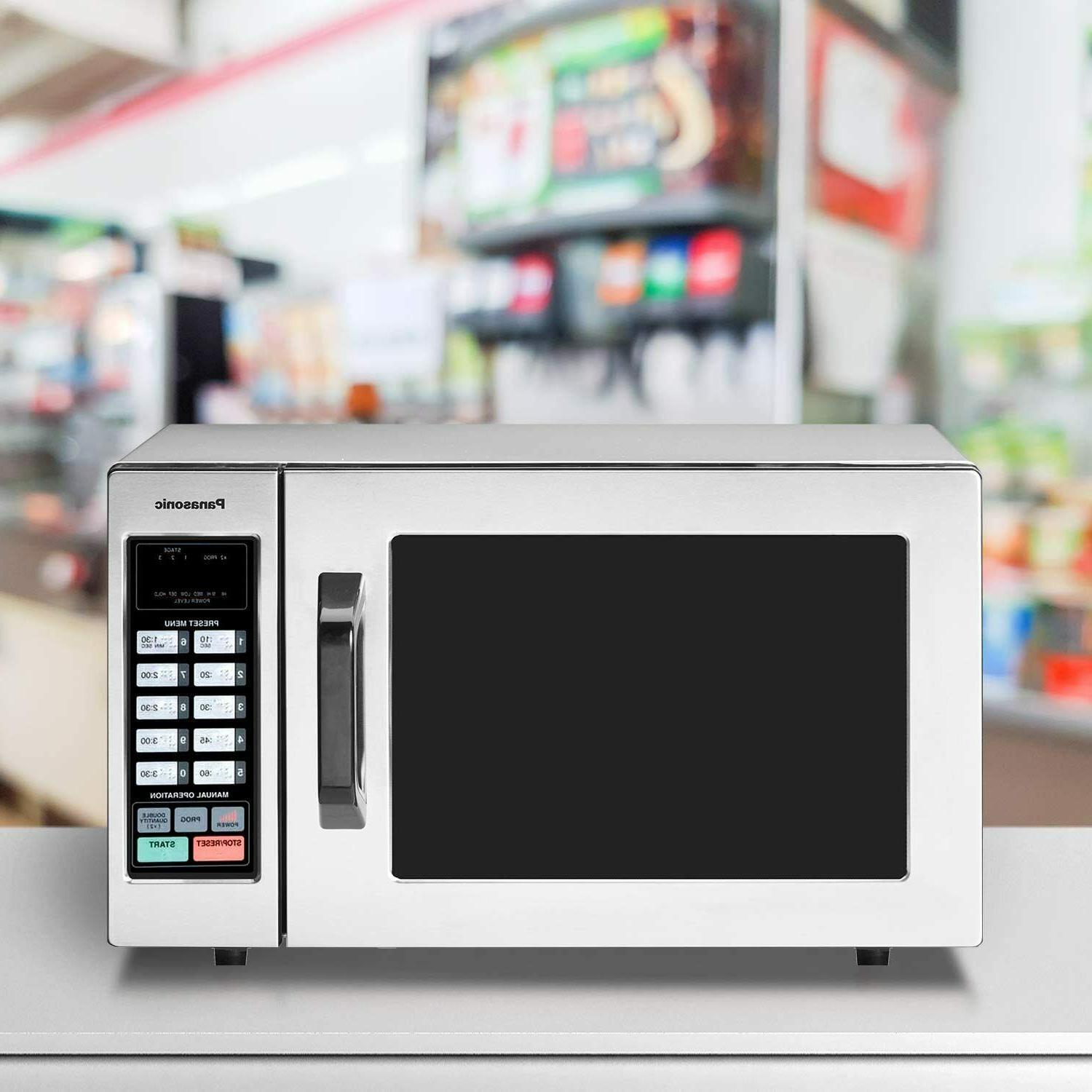 Durable Steel Commercial Microwave Controls 1000W NEW