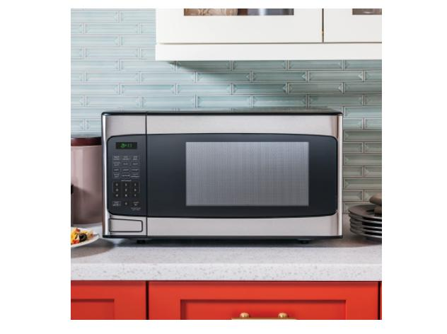 General Electric Ft. Countertop Stainless Microwave Oven -FREESHIP