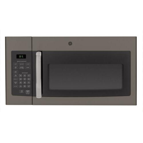 G.E 1.6 cu. ft. 1000 Watts Over-the-Range Microwave Oven in