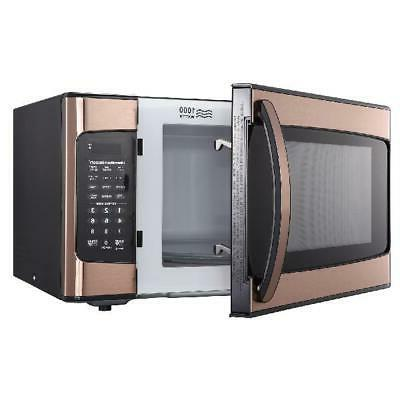 Microwave 1.1 Cu Display Kitchen Cooking Copper