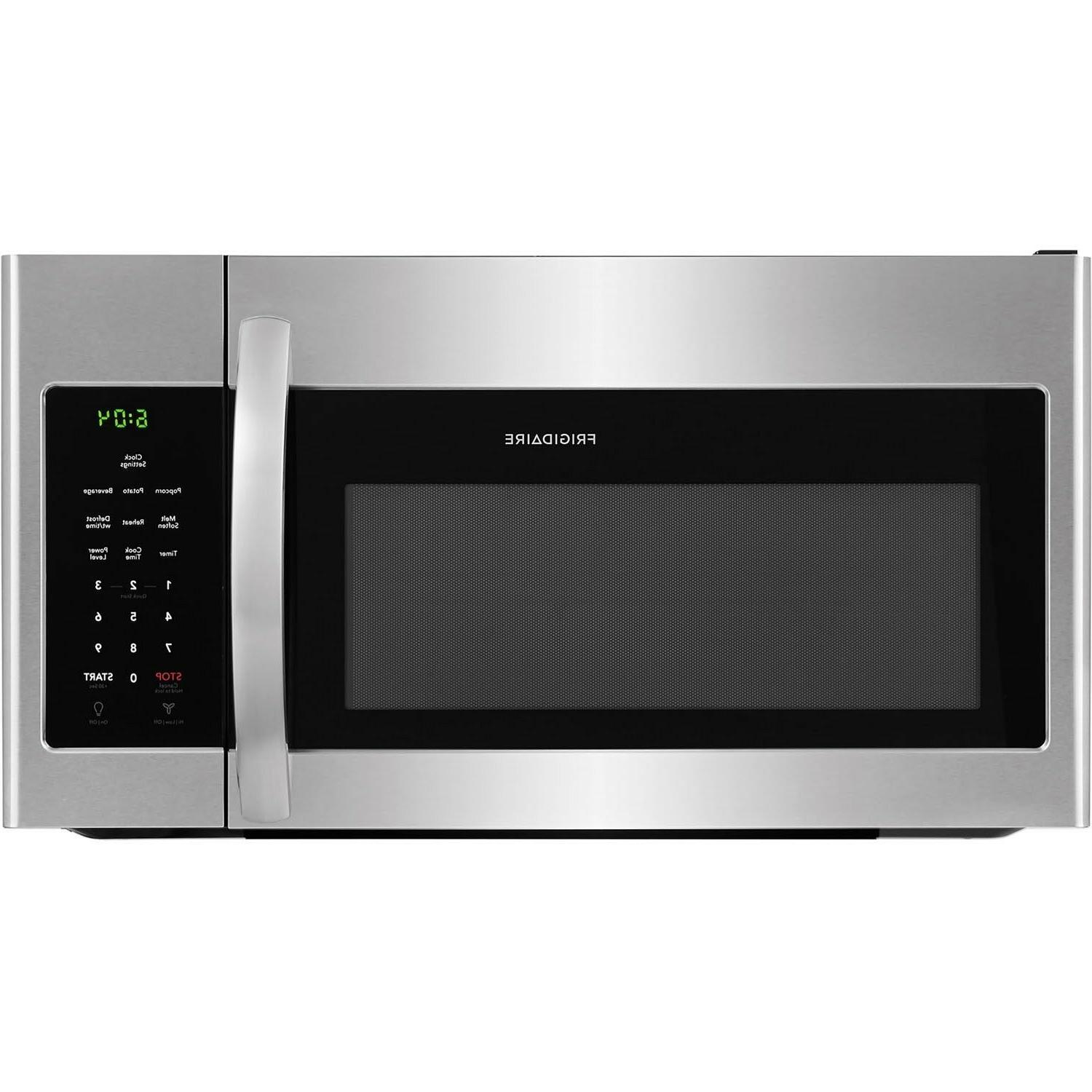 stainless steel 30 over the range microwave