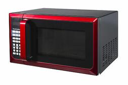 Microwave Oven 0.9 Cu Ft Touch Pad Control Reheating Home Ki