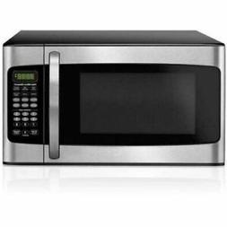 Microwave Oven 1.1 cu ft Stainless Steel Home Countertop 100