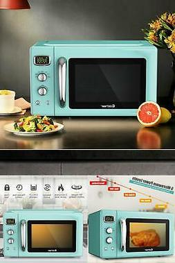 Microwave Oven Kitchen Countertop Home 0.9 Cu.ft Retro Color