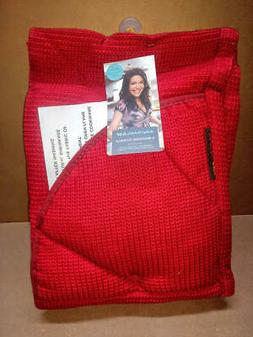 Rachael Ray Moppine Kitchen Towel and Oven Glove 2 in 1 RED
