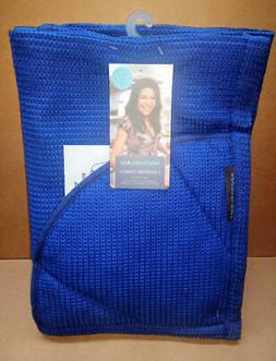 Rachael Ray Moppine Kitchen Towel and Oven Glove 2 in 1 Blue