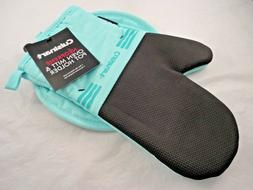 CUISINART NEOPRENE OVEN MITT & POT HOLDER NON SLIP EASY GRIP