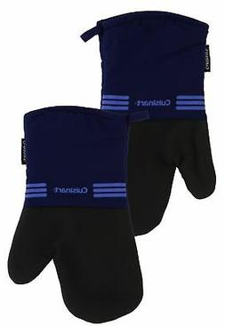 Cuisinart Oven Mitt w/Neoprene for Easy Gripping, Monaco Blu