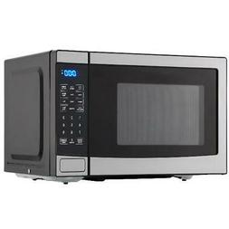 Stainless Steel 0.7 Cu Ft Microwave Oven Kitchen Countertop