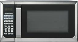 Stainless Steel Microwave Oven Dorm College Apartment 900w L